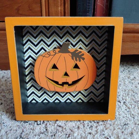 Cute Pumpkin Shadowbox